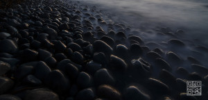 Stones and Sea Nightfall